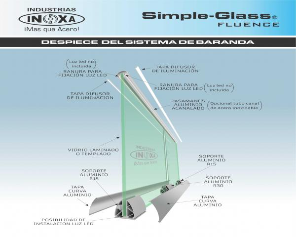 Sistema de Baranda Simple-Glass®